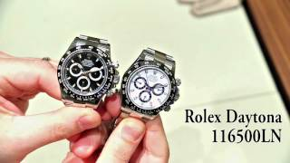 Rolex Cosmograph Daytona 116500LN Watch Hands On | aBlogtoWatch