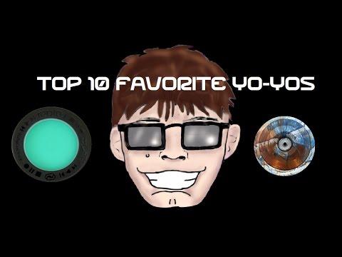 My Top 10 Favorite Yo-Yos