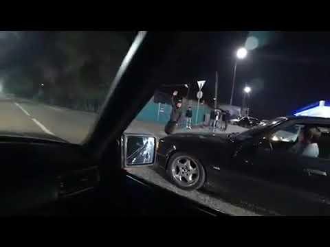 BMW 540i E34 286hp 4.4 vs Mercedes BENZ w124 e55 AMG 356HP WOLF