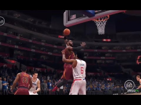 NBA Live 18 Cavs vs Clippers Gameplay