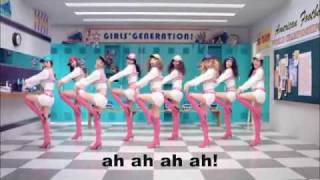 SNSD - Oh! with English lyrics (Team Buffalaxed!)
