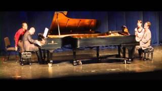 Pablo Ziegler - Milongueta for two pianos at the Lied Center | Daniel Cunha & Evangelos Spanos