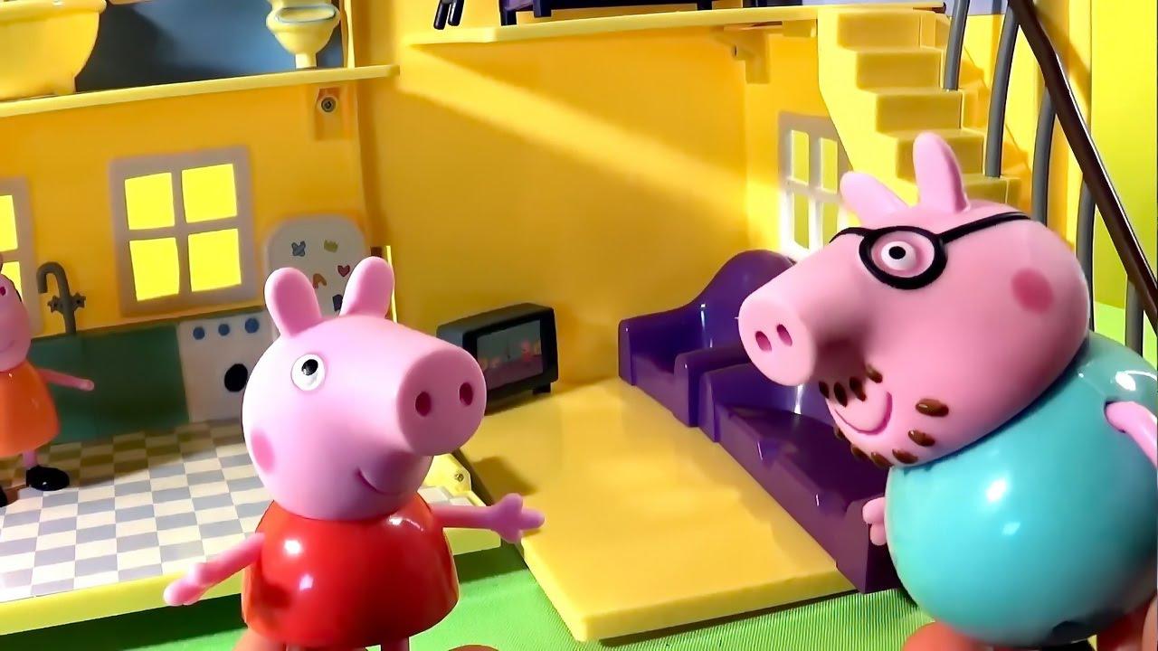 Свинка Пеппа - сборник интересных серий. Развивающие мультфильмы с игрушками для детей - Peppa Pig