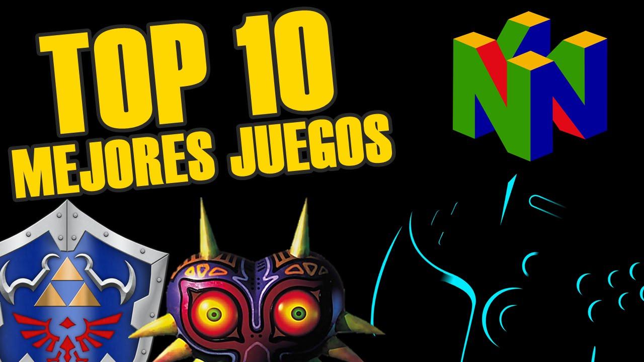 10 mejores juegos de nintendo 64: