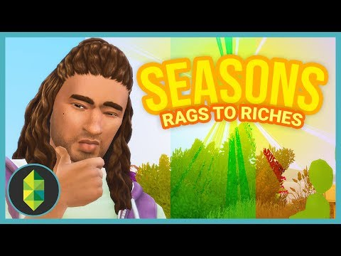 BEES!? - Part 1 - Rags to Riches (Sims 4 Seasons)