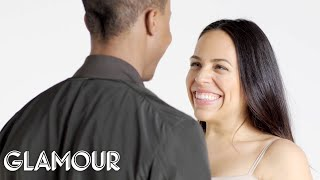 Couples Stare at Each Other for 4 Minutes Straight | Glamour thumbnail