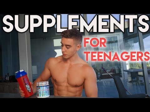 A Video on Supplements | Teenage Bodybuilding | Zac Perna
