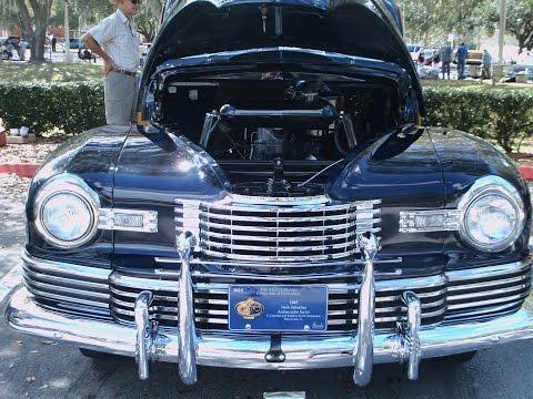 1947 Nash Ambassador Suburban Sedan Blu OcalaAACA022517
