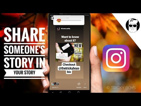 How to share someones story on instagram to my 2019