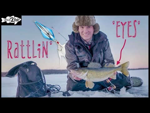 Ice Fishing Walleyes: Advanced Spoon Tricks