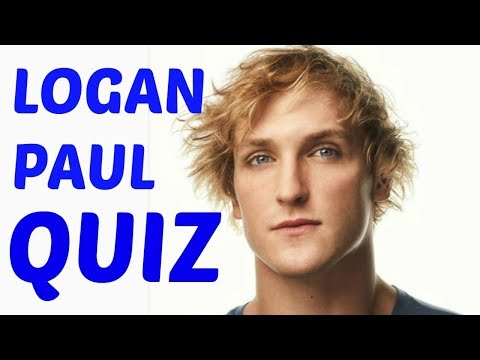 Thumbnail: HOW WELL DO YOU KNOW LOGAN PAUL?