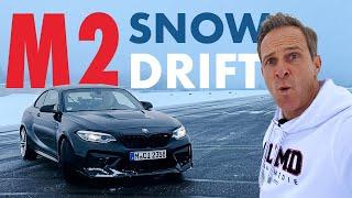 BMW M2 CS   Matze's Drift-Schule   Quer über den Flugplatz   Matthias Malmedie