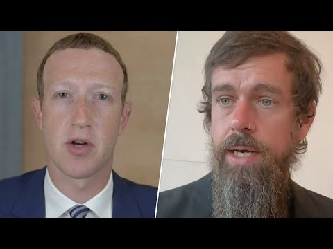 Mark Zuckerberg, Jack Dorsey Testify at Senate Hearing | NBC News