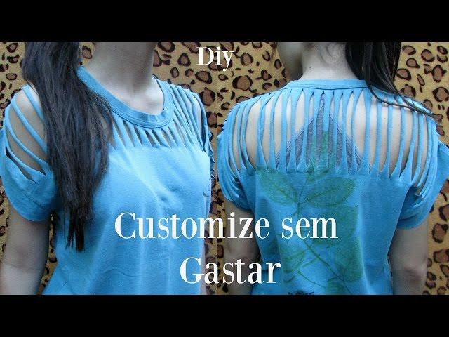 3 Idéias para você customizar blusas | DIY