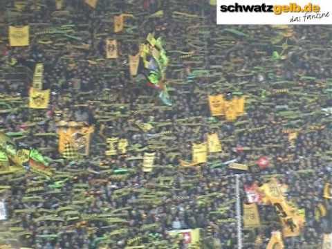 BVB - SC Freiburg Stimmung Fans 1/2 - Borussia Dortmund - SCF Video Choreo
