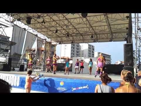 Beach Village Lignano Sabbiadoro Slovakia(Kosice) Zumba with Tatiana 16.8.2012 HD