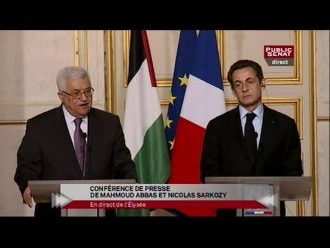 Conférence de presse de Nicolas Sarkozy et Mahmoud Abbas - Evénement (22/02/2010)
