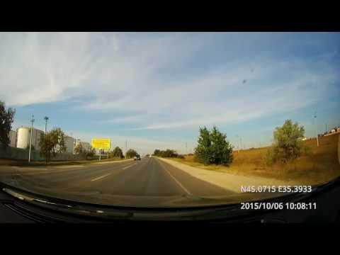 06.10.2015 Крым: по серпантину дороги Р29 / A trip along the winding mountain road in Crimea