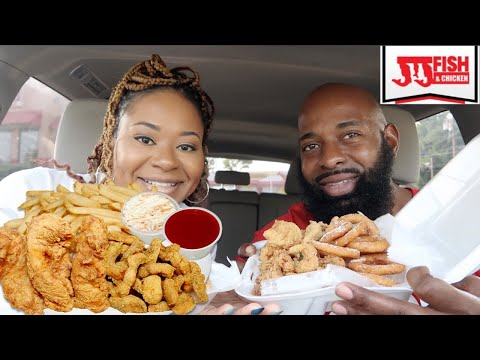 JJ Fish & Chicken Mukbang  Atlanta Style