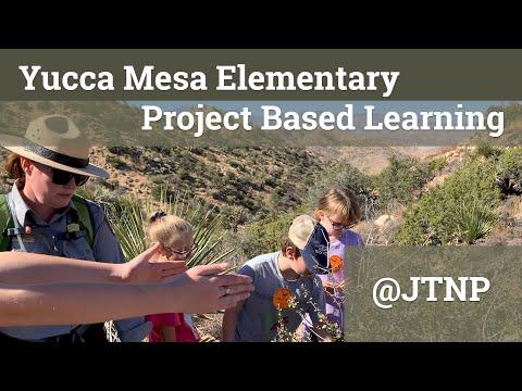 Project Based Learning - Yucca Mesa Elementary School - Joshua Tree National Park