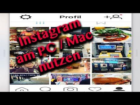 Hochladen Von Fotos In Instagram Am Windows Desktop PC Oder Mac