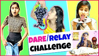 24 Hrs Extreme DARE or RELAY Challenge | Anaysa