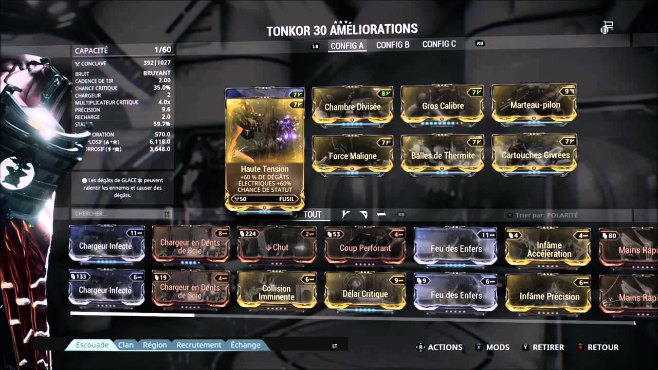 Best Tonkor Build