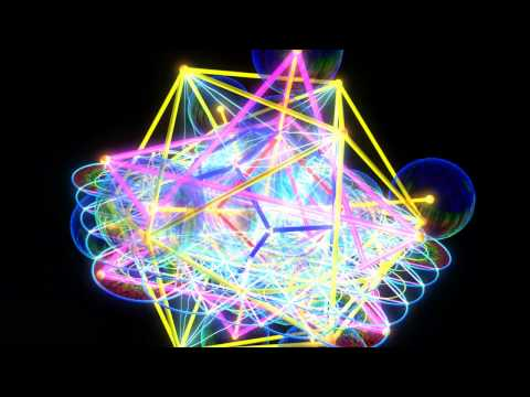 Metatron Cube 3D ( Sacred Geometry by ieoie )
