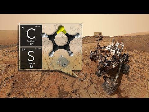 VIDA en MARTE? Curiosity de la NASA halla material orgánico antiguo y el misterioso ciclo del metano
