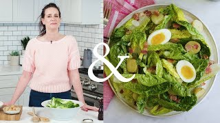 Jammy Eggs and Hot Bacon Dressing |  F&W Cooks