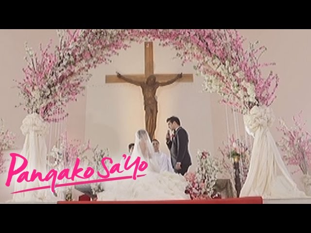 Pangako Sa'Yo: Amor and Eduardo's wedding