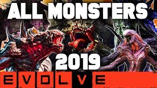Download EVOLVE ALL MONSTERS 2019!! NEW Evolve Gameplay Stage Two (EVOLVE 2019 Monster Gameplay)