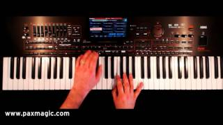 PaX Magic - Famous Names - Keyboard Set Regsitrations for Korg Pa4X