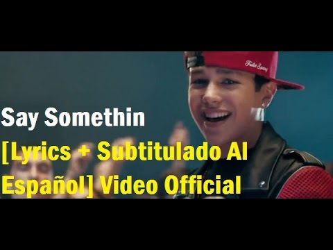 Austin Mahone - Say Somethin [Lyrics + Subtitulado Al Español] Video Official HD VEVO
