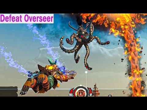 Almighty: Kill Your Gods: Disarmament: Extract Overseer Gauntlet: Defeat Overseer  