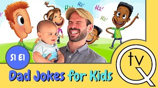 Clean Funny Dad Jokes For kids (Laughing is good for you)  S1 E1