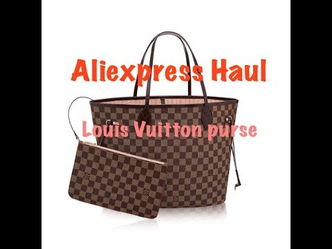 Aliexpress Haul  1  Louis Vuitton Purse - YouTube 09d601ba8d91