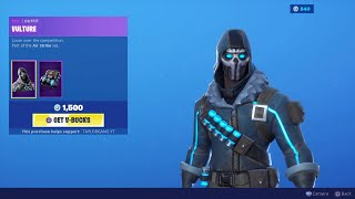 Fortnite Item Shop - Nouvelle peau VULTURE! AIR STIKE SET! (31 août 2019)