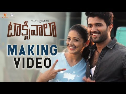 Taxiwaala Making Video | Vijay Deverakonda, Priyanka Jawalkar, Rahul Sankrityan, SKN