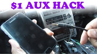 Gambar cover DIY: $1 AUX Stereo Input Hack