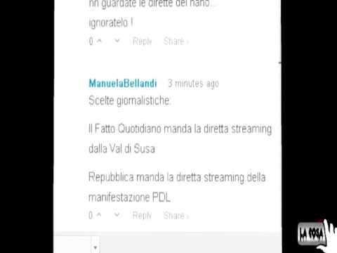 Lacosachannel messaggio chat stampa italiana