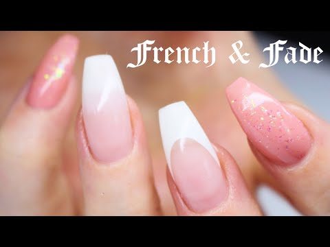 ♡ How to: French & French fade with Gel