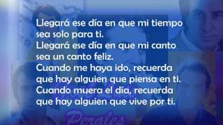 Jose Luis Perales - Balada para una despedida (Letra)