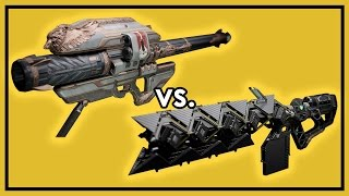 Destiny Rise of Iron: Gjallarhorn vs. Sleeper Simulant - Exotic Weapon Damage Comparison