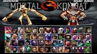 Mortal kombat project 4.1-Shinnok(Corrupted) Vs.shao kahn