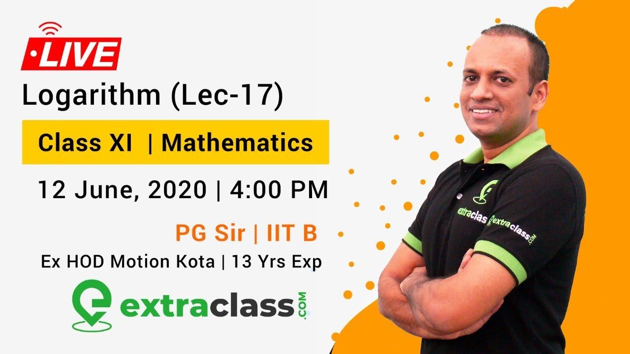 Logarithm (Lec-17)