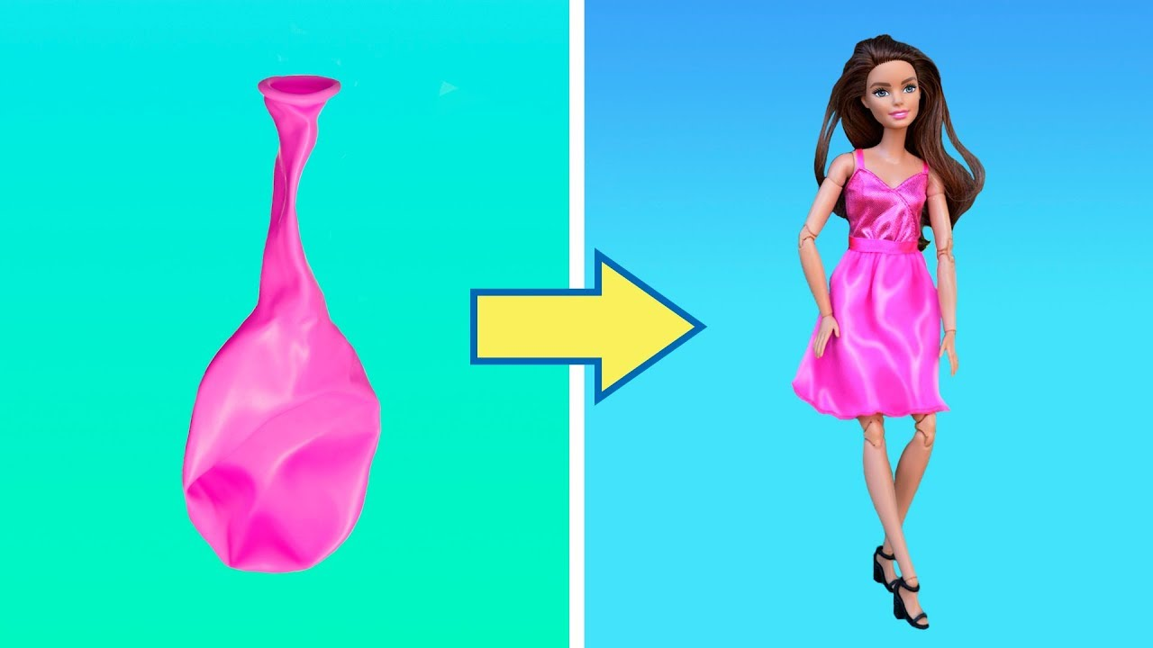 22 Totally Cool Diy Barbie Hacks And Crafts Youtube