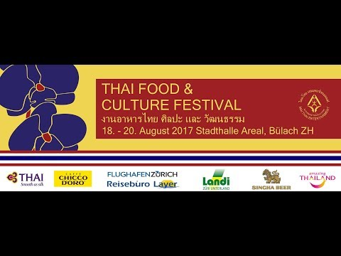Thai Food & Culture Festival Bülach 2017