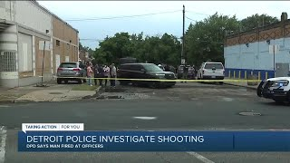 Detroit police fatally shoot man after he opens fire, DPD says
