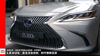 2019 Lexus ES300h Hybrid - Australian Spec